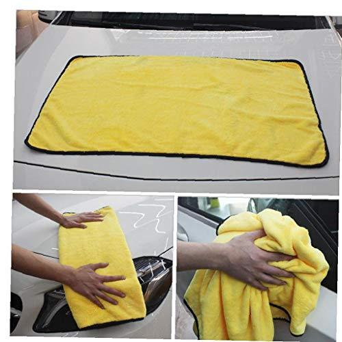 Froiny 1pc Hogar Absorbente Estupendo Car Wash Paño De Microfibra Toalla De Limpieza Paños De Trapo De Secado De Toallas Detalle del Coche