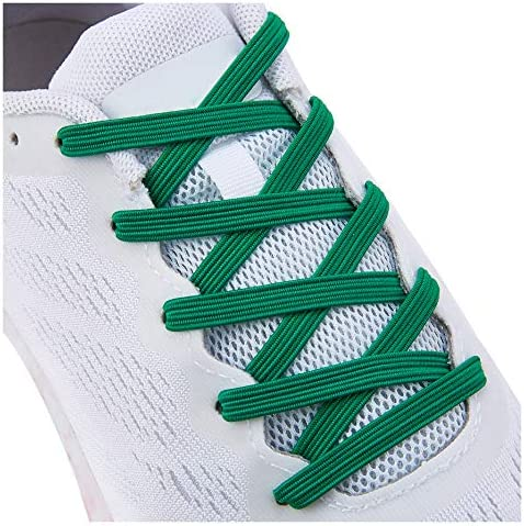 No Tie Tieless Shoe Laces for Adults Kids Shoes One Size Fits All Elastic Shoelaces for Sneakers product image