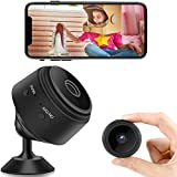 Mini Spy Camera, WiFi Wireless Tiny Secret Camera 1080P Full HD, Portable Home Security Hidden Camera with Audio and Video Live Feed for Indoor Outdoor