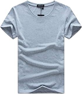 [シービリーヴ] 【在庫限りプライムセール】 Tシャツ Uネック 半袖 無地 インナー シャツ シンプル 良質素材 薄手 部屋着
