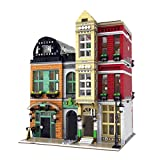 WOLFBSUH Creative Shoe Store Building Kit, Street View City House Building Block, Model Set and Assembly Toy for Kids and Adults (4087Pcs)