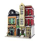 Mecotecn 4087 piezas de bloques de construcción de arquitectura para niños con mini figuras e iluminación LED,...