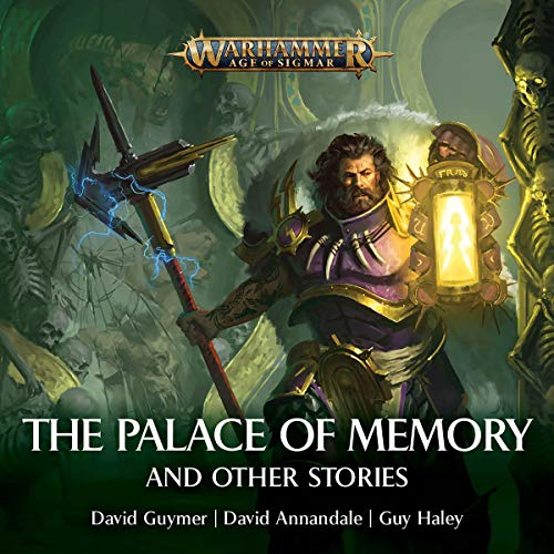 Palace of Memories & Other Stories     Warhammer Age of Sigmar              Autor:                                                                                                                                 David Guymer,                                                                                        David Annandale,                                                                                        Guy Haley                               Sprecher:                                                                                                                                 John Banks,                                                                                        Steve Conlin,                                                                                        Andrew Fettes,                   und andere                 Spieldauer: 1 Std. und 21 Min.     Noch nicht bewertet     Gesamt 0,0
