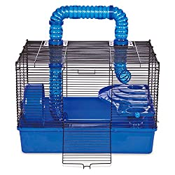 cheap Duplex Hamster House Subway Time, 20inch-Blue