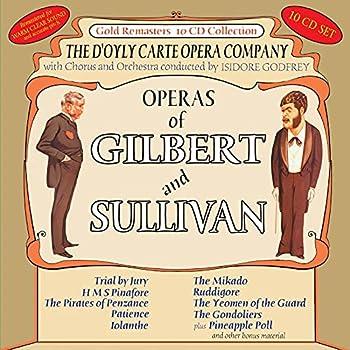 gilbert and sullivan cd