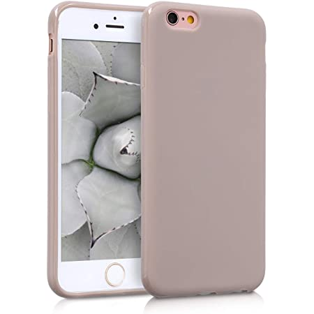 Kwmobile Hülle Kompatibel Mit Apple Iphone 6 6s Handyhülle Handy Case In Creme Matt Elektronik