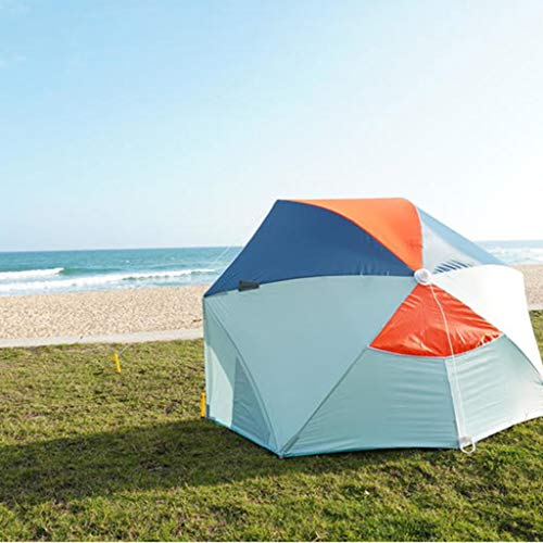 IMBM Sunscreen Beach Tent Small Simple Portable Sunshade Seaside Holiday Fishing Sunscreen