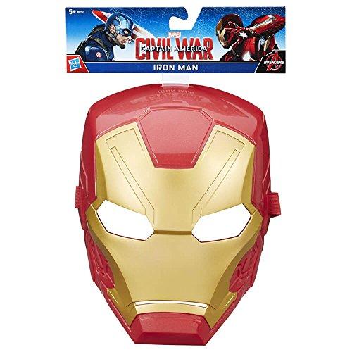 Masque officiel Disney Captain America - Captain America : Civil Wars. Le style peut varier