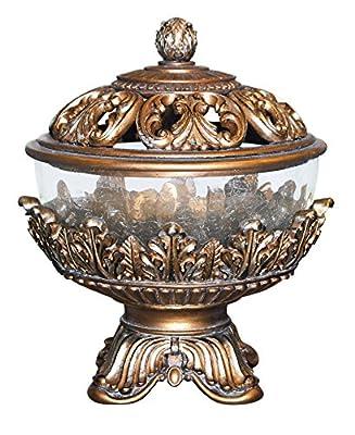 "OK Lighting OK-2654A 10.5"" H Royal Victorian Jewelry Box"