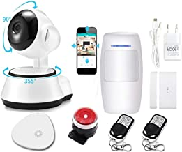 Venster of deursensor Home Security Smart Inblegar Alarm Kit Draadloze app-besturing van gratis Smart App WIFI-interface H...