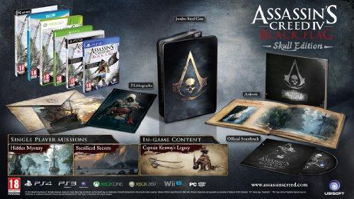 Assassins Creed IV: Black Flag - Skull Edition (PC-DVD)