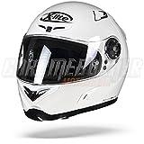 X-Lite X de 802rr Start Integral Casco Moto Ligero de Fibra–Blanco Tamaño L