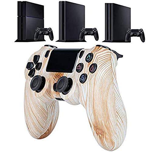 LIMIAO Controlador de PS4, Tablero de Juego de vibración Detroit Playstation 4, Joystick inalámbrico Bluetooth para Consola de Juegos de PC PS4 Slim / PS4 Pro,5