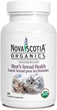 Nova Scotia Organics Energy & Stamina for Men Formula (120 Caplets); Organic; Vegan; Vegetarian; Zinc; Maca; Goat Weed; Saw Palmetto