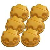 RYOBI RY29550/RY30530/RY30550 6 Pack of OEM Replacement Knobs # 518803001-6PK