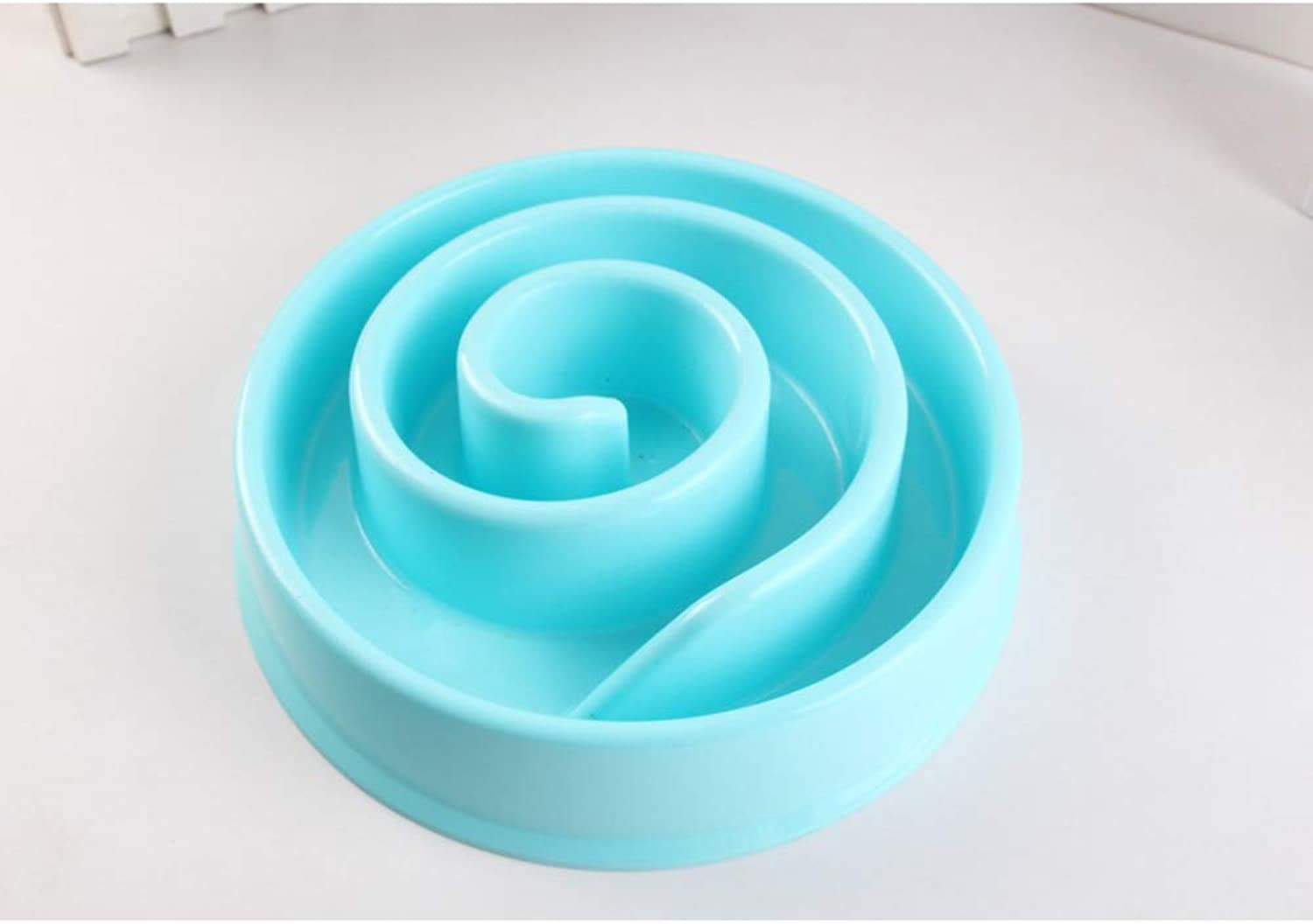 Anti Choke Pet Dog Feeding Bowls Plastic Snail Shape Slow Down Eating Food Prevent Obesity Healthy Diet Dog Accessories