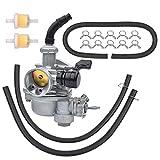 PZ19 Carburetor Replacement for Taotao Chinese 50 70 90 110 125 135 cc ATV Quad 4 Wheeler Pit Dirt Bike Go Kart