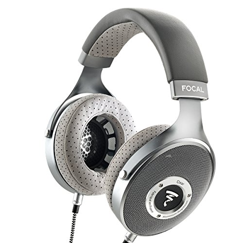 Focal Clear Open Back Cuffie - Grigio
