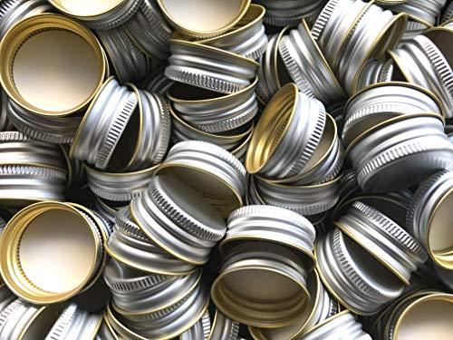 AE-GLAS PP31.5 PP 31,5 - Tapón roscado de repuesto para botellas de aluminio, plástico, 100 unidades