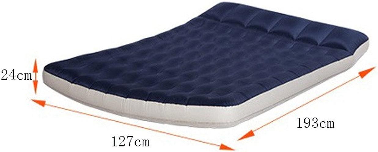 Lit gonflable Double Home Folding Bed Tente portable Outdoor Camping Lit imperméable à l'humidité 127  193  24CM
