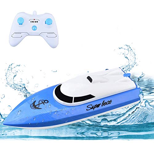 WomToy RC Boat, 2.4GHz High Speed Remote Control Boats for...