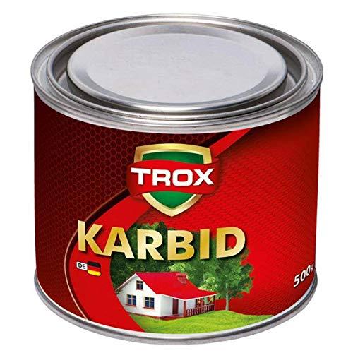 Sanimix24 Calciumcarbid 0,5 Kg Karbid als Granulat - Feste Steine - 10-30 mm Körnung - lange Wirkung und hohe Gasentwicklung