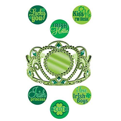 Amscan Diadème personnalisable Saint-Patrick