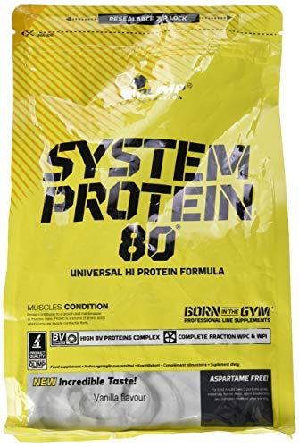 Olimp System Protein 80 Vanille, 1er Pack (1 x 700 g)