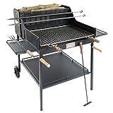 ba44 barbecue arezzo a legna e carbone cruccolini