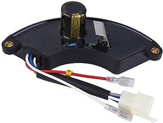 Regulador de voltaje monofásico 5KW Controlador Generador AVR 470uF 400V Repuestos automáticos