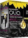 Garnier Olia - Coloración Permanente sin Amoniaco, con Aceites Florales de Origen Natural - Tono Negro Ébano 1.0