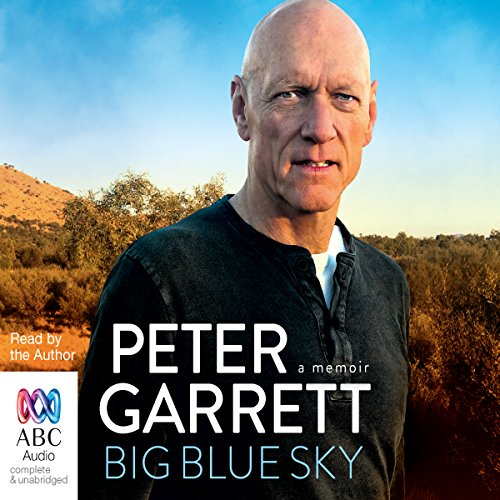 Big Blue Sky audiobook cover art