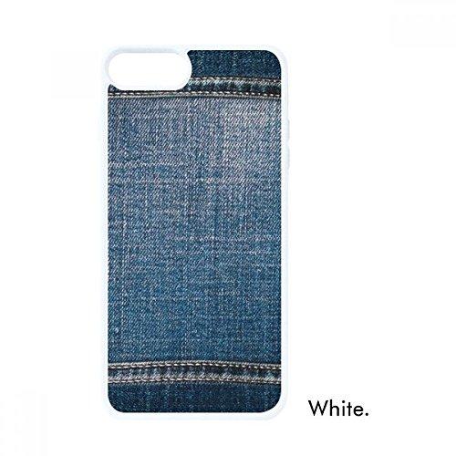 DIYthinker Denim Jean Cowboy Voering Textiel Voor iPhone 7/8 Plus Cases Witte Phonecase Apple Cover Case Gift