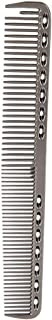 【2021 New Year's Special】Space Aluminum Stainless Steel Comb Haircut Comb Durable Fashionable Anti-static for Salon Barber...