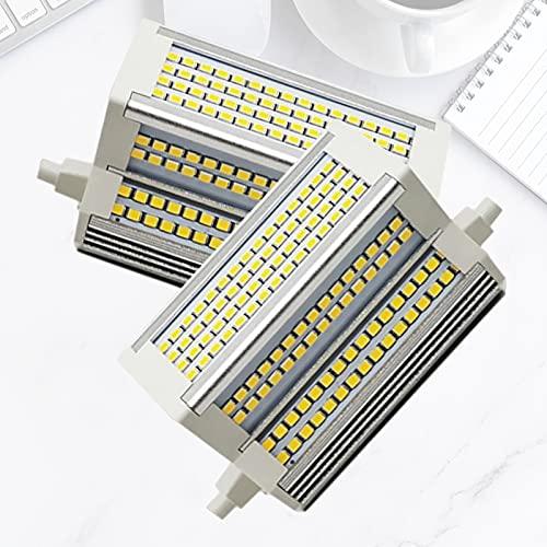 Bulbs 2X Lampadina LED R7S 50W 118mm AC 110-240V 220 ° Angolo Fascio LED Lampadina Sostitutiva Lampadina alogena 500W, per Lampada da Parete a soffitto