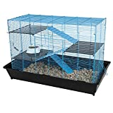 Ware Manufacturing 35' Mess Resistant Chew Proof Small Animal Cage, Black