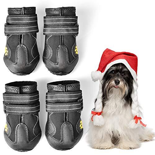 WUXIAN Waterproof Dog Shoes