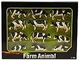 Kids Globe Farming 571929 - Juego de vacas para Siku (12 unidades)