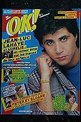 OK ! âge tendre 479 Jean-Luc LAHAYE - WHAM Poster - Madonna - Peter & Sloane - 18 au 24 mars 1985