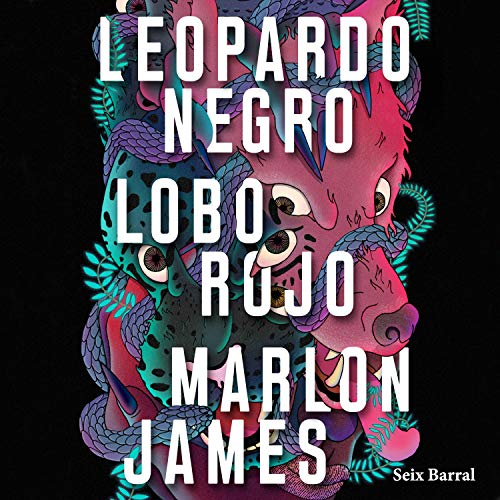 Leopardo Negro, Lobo Rojo audiobook cover art