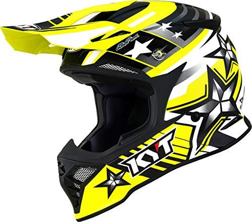KYT Skyhawk Ardor Motocross Helm Gelb M (57/58)