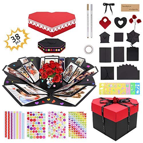Gifort Caja Sorpresa, Caja de Regalo Creative Explosion Box para DIY Photo...
