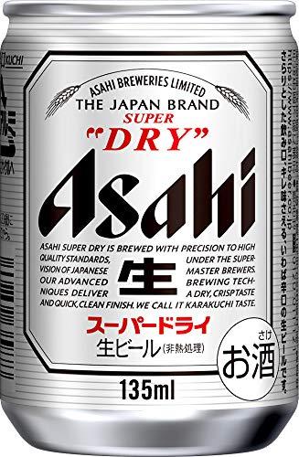 アサヒビール スーパードライ 135ml×24本 [7404]