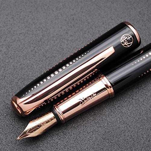 Picasso 916 Malage Fountain Pen Original Box New Version (Starlit Night Black, Medium Nib 0.7mm)