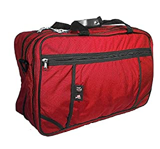 Tri-Zip Carry-On Suitcase, by Tough Traveler