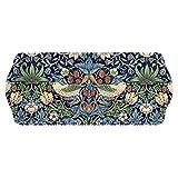 Pimpernel Bandeja para sándwiches, con diseño de Fresas, Azul, Multicolor, de...