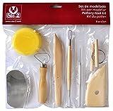 Set de modelado SIO-2 37000009 (8 herramientas de modelado)...