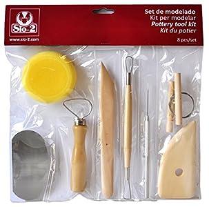 Set de modelado SIO-2 (8 herramientas de modelado)