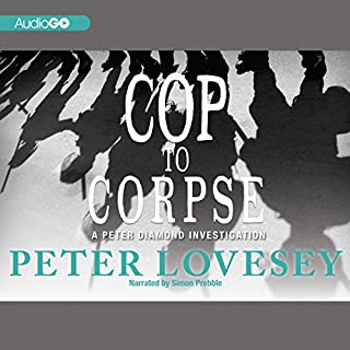 Cop to Corpse audiobook cover art