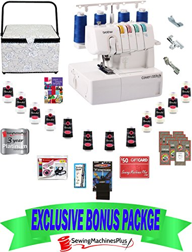 Lowest Prices! $799 Value BROTHER 2340CV Chain and Cover Stitch Machine with Bonus Pack!